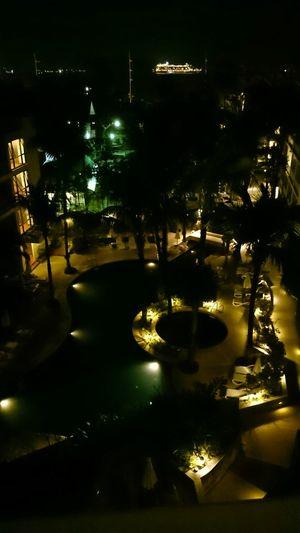 Natt på hotellet