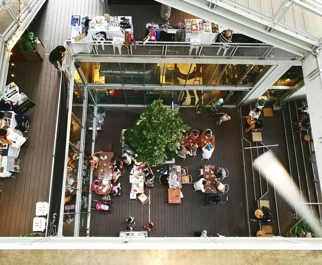 Adults Only People Indoors  Adult Day Thonglor Thailand Chill Sunday Sunday Afternoon Chilling Looking Down People And Places Building Community