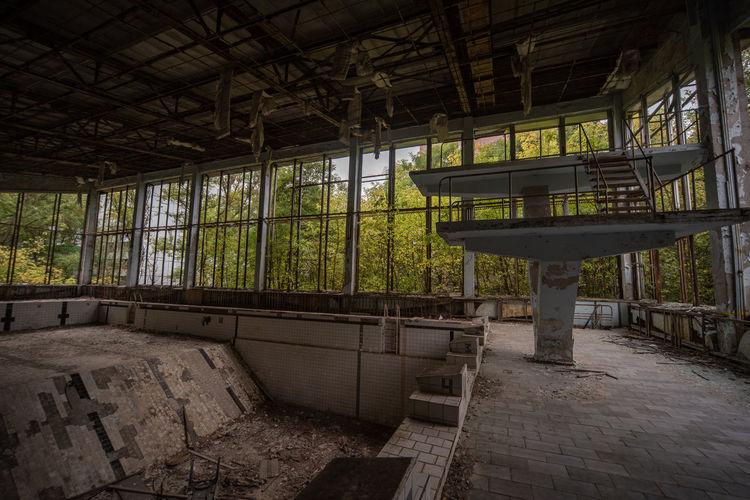 Swimming pool in pripyat