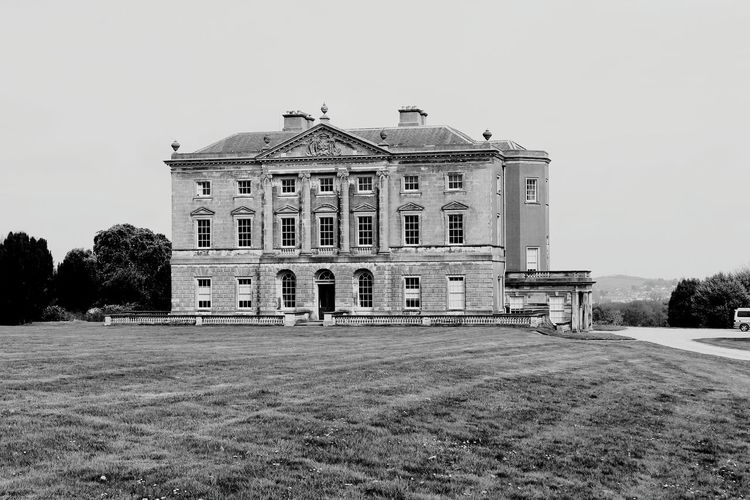 Castle Ward. An 18th Century National Trust property near Strangford, Northern Ireland Castle Ward Manor House National Trust 18th Century Strangford Northern Ireland Visit_ireland Architecture House Blackandwhite