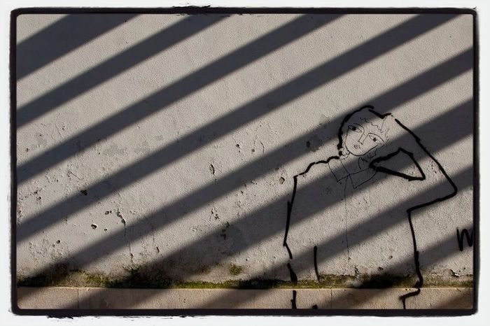 Graffiti Light And Shadow Sunshine Makes Everything Better Lines That Handle Like Shopping Carts