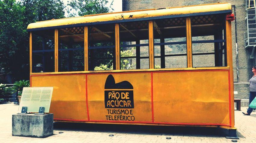O primeiro bondinho! Rio De Janeiro Photography Yellow Bondinho Urca First Eyeem Photo