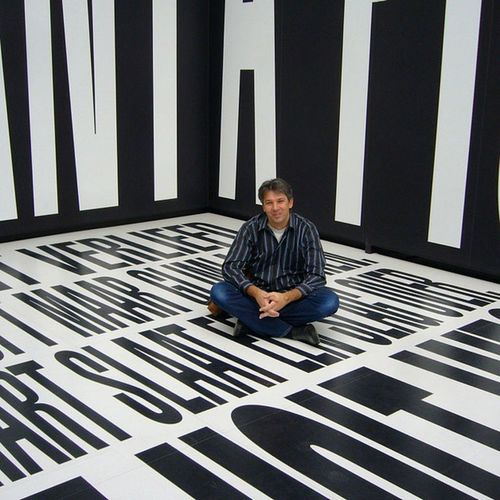 Ein Selfie im Kunstmuseum Amsterdam - nicht weit vom Vangogh Museum entfernt :-) Warst Du schon einmal in Amsterdam? ArtWork Artist Kunstwerk Typography Font Blackandwhite