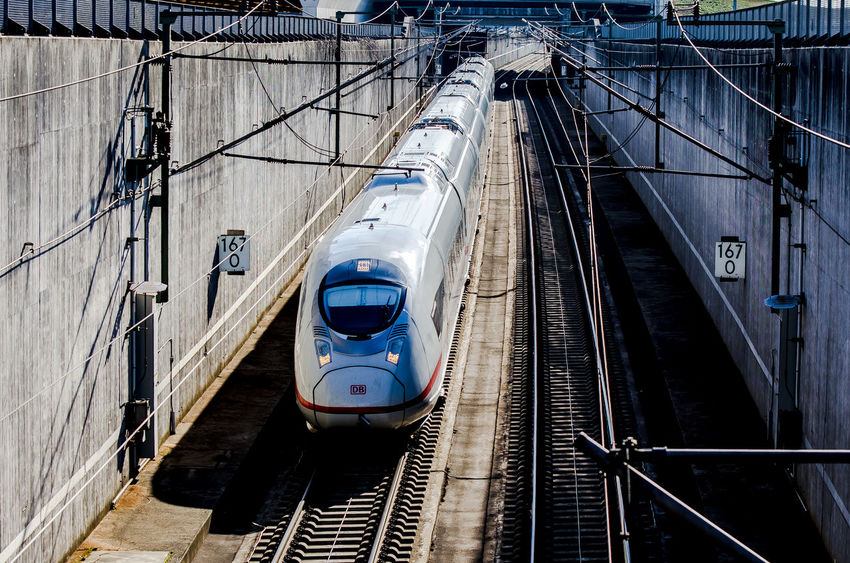 ICE entering the Raunheim tunnel ICE Train Raunheim Architecture Built Structure Day High Speed Train Mode Of Transportation No People Outdoors Passenger Train Public Transportation Rail Transportation Railroad Track Sichtmanufaktur Train Train - Vehicle Transportation Travel Tunnel