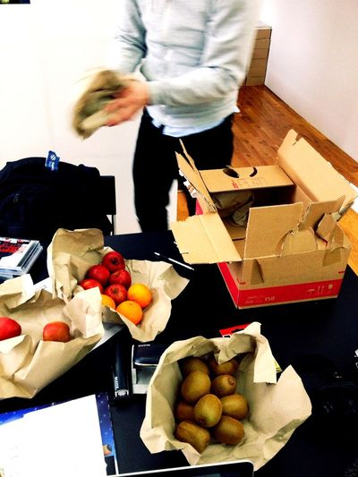 Fruit delivery at EyeEm HQ Fruit Delivery