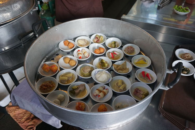 Appliance Bowl Close-up Container Cooking Pan Dimsum Food Food And Drink Freshness Healthy Eating High Angle View Household Equipment Indoors  Kitchen Kitchen Utensil No People Preparation  Preparing Food Steel Still Life Wellbeing 點心 點心Snack