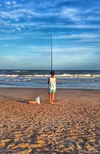 La paz de determinadas costas en mi país, en Mar de las Pampas, Buenos Aires Cellphoto Argentina Holidays Summer Beach Betterlooktwice Vacaciones De Verano Atardecer
