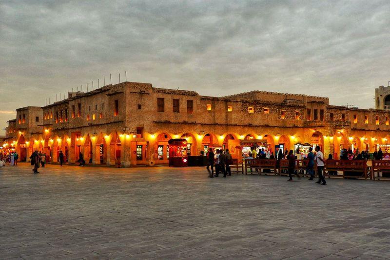 EyeEmNewHere Built Structure Architecture Travel Destinations Market Middle East Qatar