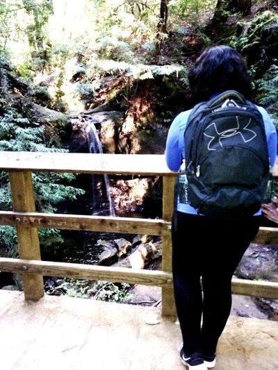Love hiking 😃 On A Hike Hiker Workout Nature Naturelovers Take A Break Nice Views Walking Backpack Stressfree