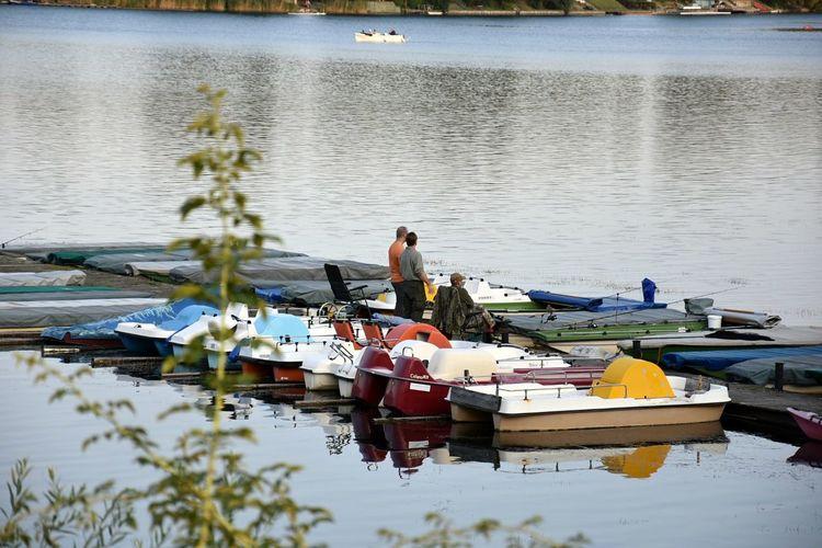 Water Lake Fisherman Men Outdoors EyeEmNewHere