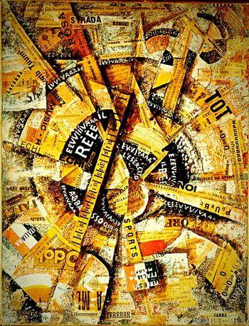 Carlocarra Virtual Web Museum Of Contemporary Art Futurism Avanguardie Storiche Historical Avantgarde Futurismo