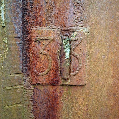 Number 33 Thirtythree Rust Rustygoodness