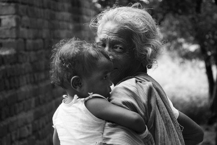 India Indian Culture  Love Babygirl Eye Family Grandmother Regards