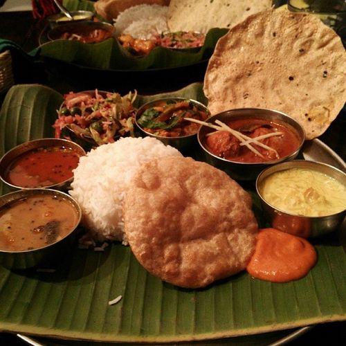 ダバインディアのミールス♡ ミールス カレー インド料理 南インド料理 ダバインディア 日本橋 東京 meals curry Indiancuisine indianfood indiandish southindia tokyo yummy