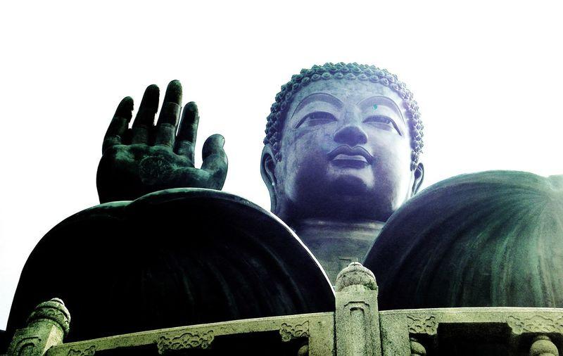 Big Buddha Big Buddha Temple Buddhism Greetings Hello Hong Kong Religion Tian Tan Buddha (Giant Buddha) 天壇大佛