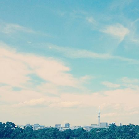 Happy Taking Photos Relaxing Time Beautiful Beautiful Day Japanese Summer Enjoying Life Enjoying The View Tokyo Sky And Clouds