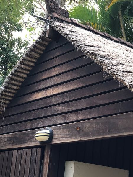 Balinese Hut Balinese Architecture Thatched Roof Bali Sunlight No People Pattern Day Shadow Nature Architecture Wood - Material Outdoors Built Structure
