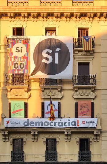 Referendum Spain Catalunya