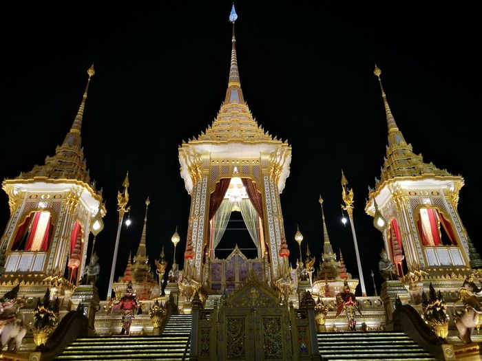 Remembrance of thailand Morethananything Royal King Of King Crematory Unconfitionallove 😍😌😊 Architecture Heart Of Thailad Outdoors King Of Thailand Remembrance Capital Sanam Luang Bangkok I Love You My City