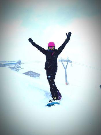 #havingfun #Enjoyinglife #Snowboarding Winter Snow