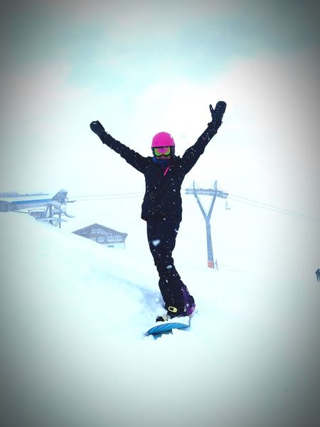#havingfun #Enjoyinglife #Snowboarding Winter Snow