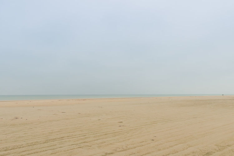 Foggy beach in denmark. Beach Beauty In Nature Copy Space Day Denmark Horizon Over Water Landscape Nature Nusshain 06 17 Outdoors Sand Scenics Sea Sky Three People Tranquility Vast Water