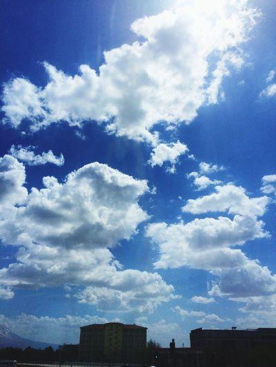 Bulutlar Gökyüzümavi Yolculuktemalı Tatilzamanı Yazgeliyor Sky