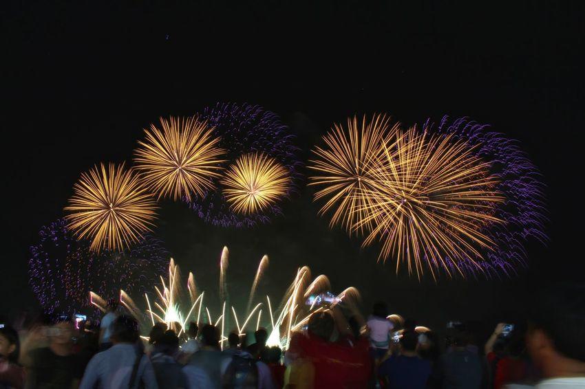 Long Exposure Cityscape City Life Night Outdoors Pyromusical2017 EyeEm Best Shots Fireworks Celebration Firework Display Longexposurephotography Lights City EyeEm Long Exposure Nightphotography Night Lights