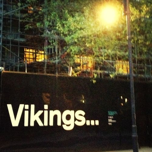 Oh.. Oh.. I forgot to say I almost got attacked by Vikings in the way home.. Almost.. Yeah.. Ok.. Not quite!! But it was a moment of excitement.. On my bike... Cycling... Past the British Museum! ....Sigh... I'll carry on daydreaming then!!