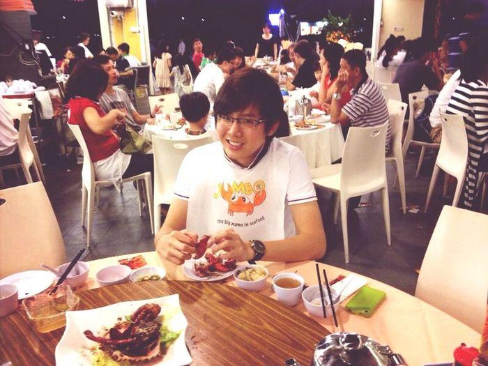 FOOOOOOD! Reunion dinner with family. Crab Foodporn