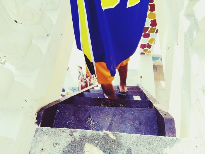 I will follow you Feet BlueJersey Stairs Colors Vacation Cellphone Photography Beginnerphotographer Followme