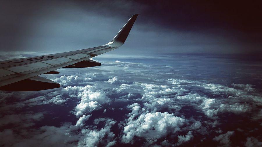 Darkness Dark Clouds Travels Photoedit