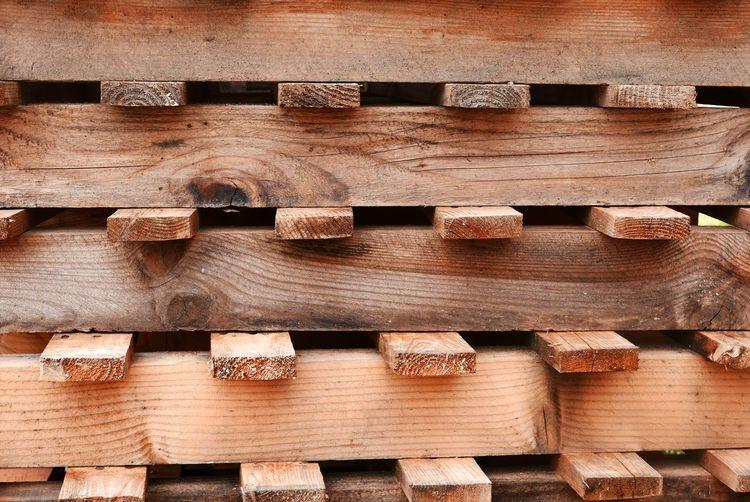 Wood Battens Construction House Building