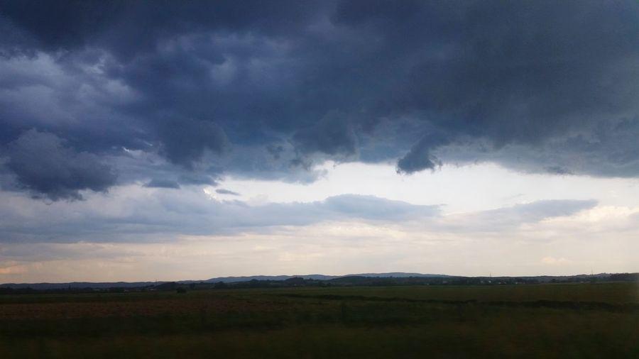 Clouds Rain Storm Nature