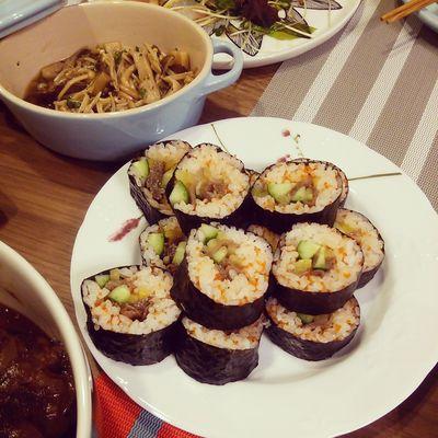 巻き寿司 Dinner