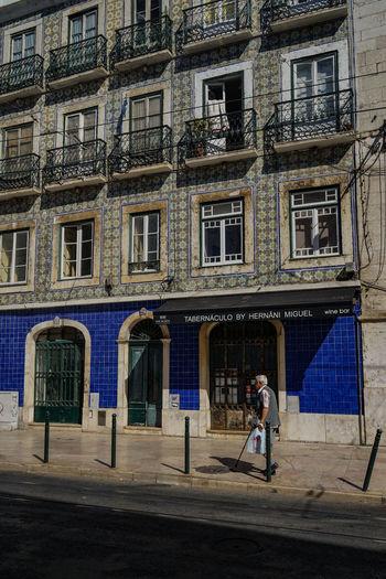 Rua De Sao Paulo Bairro Alto, Lisboa Lisboa Portugal Lisboa Lisbon - Portugal Lisbon Lissabon, Streetphotography Architecture Portugal Travelphotography One Man Only Outdoors Built Structure