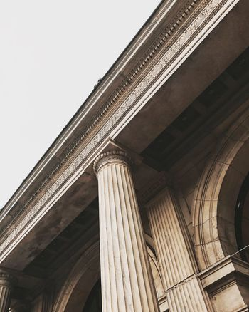 Staatsoper Hannover Low Angle View Architecture Built Structure Column Architectural Column History Pillar Building Exterior Historic Colonnade Day Architectural Feature Sky The Past Arch Outdoors High Section No People Historic Building Tall