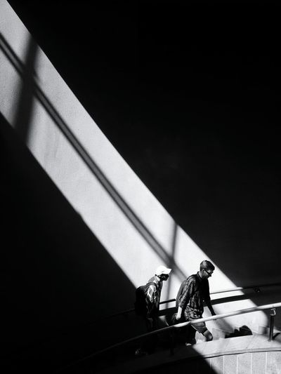 Bnw Bnwphotography Streetphotography_bw Streetphoto_bw Streetlife Blackandwhitephotography Streets_storytelling Streetstyle The Street Photographer - 2018 EyeEm Awards Full Length Shadow Men Sport Silhouette Sunlight Occupation Architecture Built Structure 17.62°