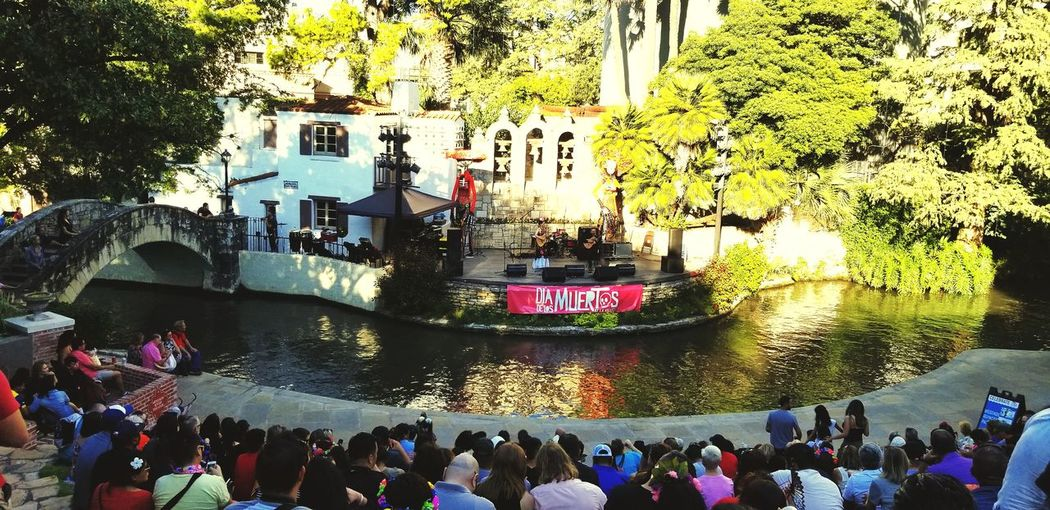 Theater River Walk At San Antonio Tourism Hotel Tourist Destination Relaxing StreetLife_Award Streetlife_mag Streetart Beautiful City Stage Amphitheater Communications Tower Tourist Attraction