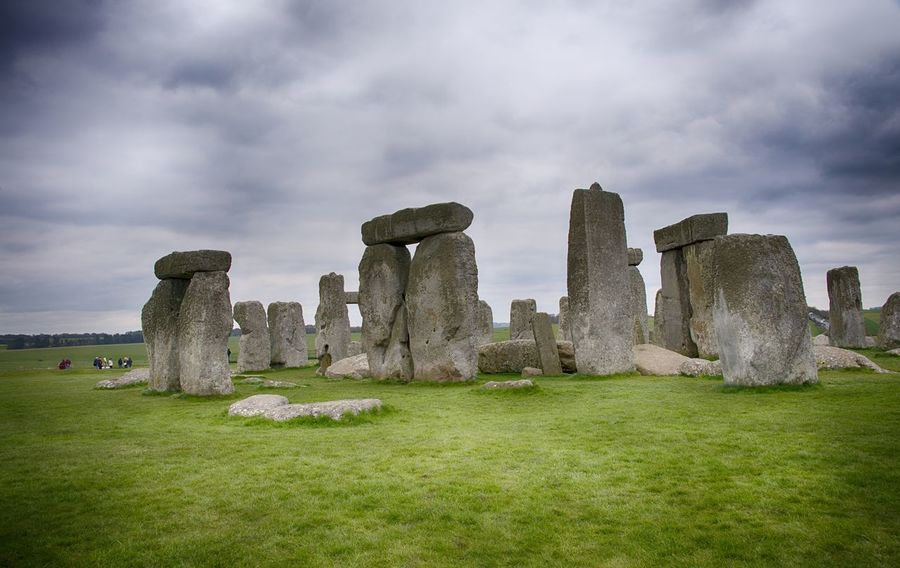 Stonehenge Memorial Ancient Ancient Civilization Architecture Cloud - Sky Day Grass History Monument Nature No People Old Ruin Outdoors Sky Stonehenge Travel Destinations