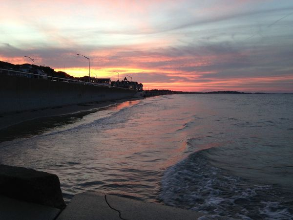 Sunset #sunset #sun #clouds #skylovers #sky #nature #beautifulinnature #naturalbeauty #photography #landscape Ocean Ocean View