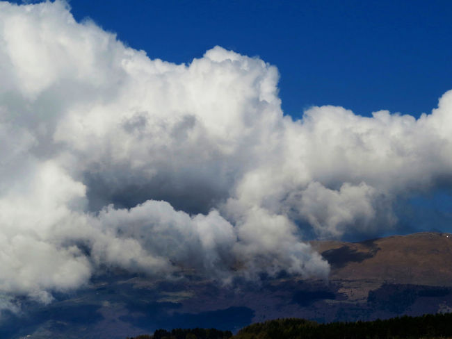 Atmosphere Beauty In Nature Changing Weather Clouds And Sky Cloudscape Fluffy Landscape_photography Light And Shadow No People Outdoors Scenic View Softness