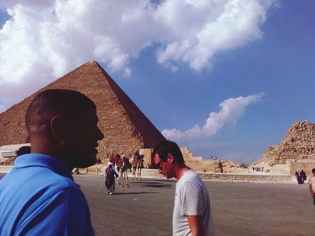 пирамида египет каир