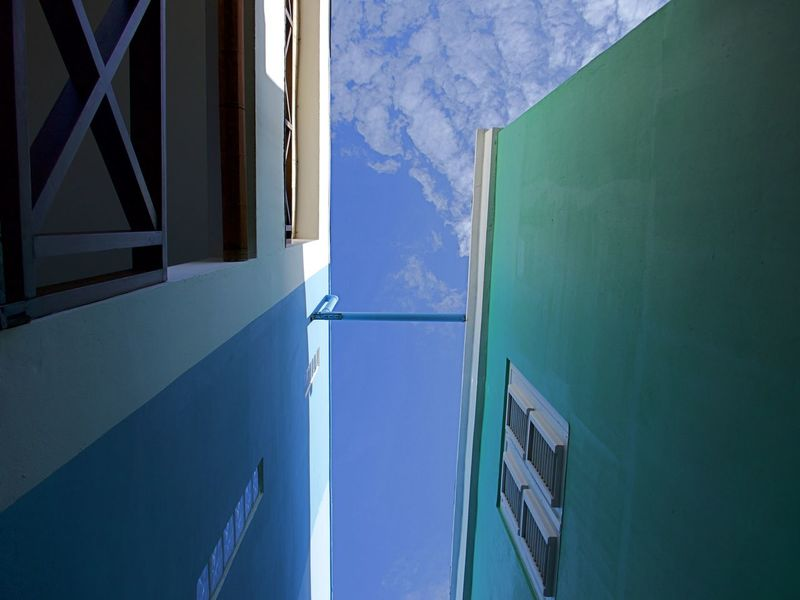 Architecture Between Buildings Building Exterior Day No People Outdoors Sky Sky And Clouds Sunlight