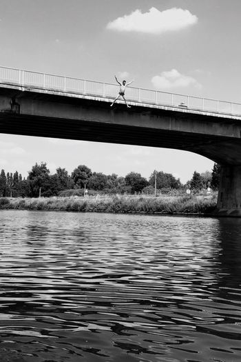 Jump Summertime River Jump In The Water  The Week On EyeEm Stories From The City