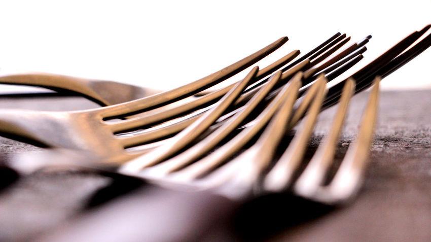 Garfos Detalhe Close-up Cozinha Detail Garfo Garfos No People Talheres