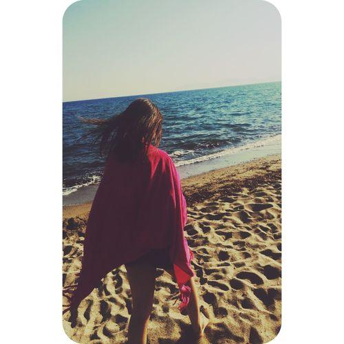 Myselfing Photos] Like myself Beach Photography