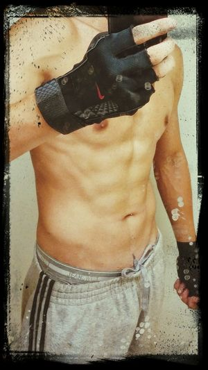 Fitness Training Body With Hard Work Come Good Results .! Nearly 40 day's hard work, pride of myself