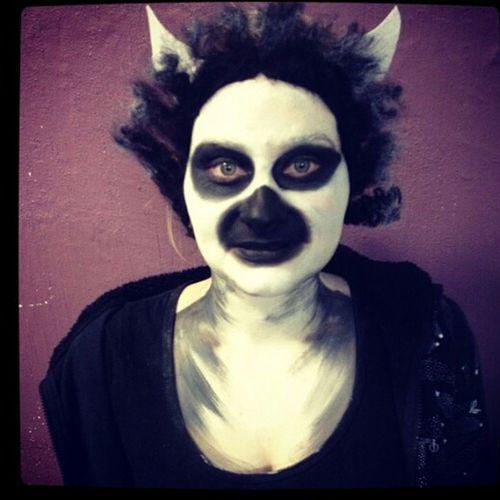 Lemurs are for life Makeup ♥ Makeuptransformation Makeup Artist Makeup Lemurs Lemur Animal Animals Animalmakeup Check This Out