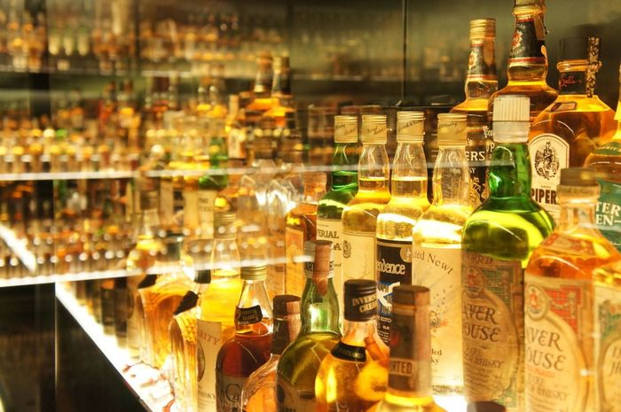 I don't Drink but if I did Scottish Whisky would most certainly be my thing. Liquor Alcohol Reflection Alcohol Bottles Booze Scotch Whisky
